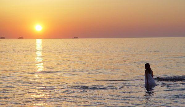 este precioso instante de mar